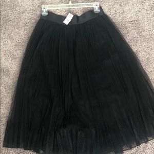 Express black tool pleated skirt. Never worn.